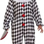 Costume scary clown one size 349kr