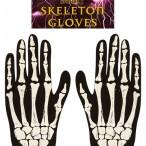 Gloves adult skeleton 35kr