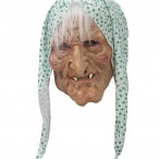 Latexmask scary old lady 169kr