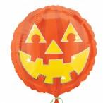 Folieballong 43cm pumpkin 28kr