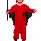 Costume devil toddler 3 år 115kr