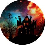 Tårtbild spökhus 59kr