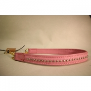 Skinnhalsband Rosa