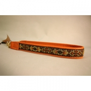 Skinnhalsband  Orange - Dekorband