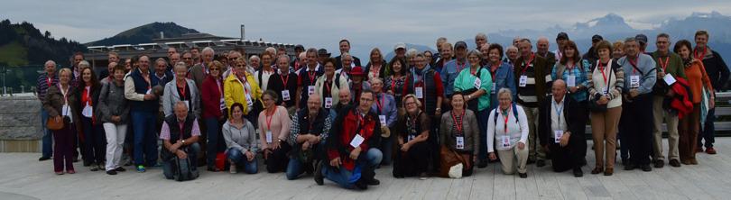 Photo of all delegates. Taken at Rigi Kaltbad. Click to enlarge.