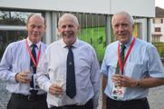 Delegates from Ireland; Larry Feeney, William Branagan and Eric Humphries