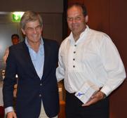 Secretary General, José Bonica and Walter Fässler
