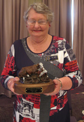 Jan Wills was greatly thanked for serving eight years as the Secretary General