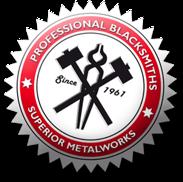 Professionel blacksmiths - Superior metalworks