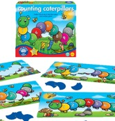 Counting caterpillars siffror 1-10