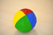 Känselboll i naturgummi