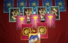 Vägledare Necia´s bild på ett Tarot Horoskop