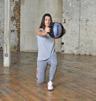 Studio Double Grip Medicine Ball