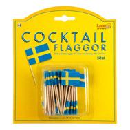 Cocktailflaggor Svensk flagga