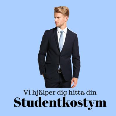 Vi hjälper dig hitta din Studentkostym