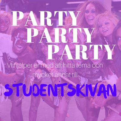Party på studentskivan