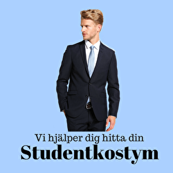Studentkostym till studenten
