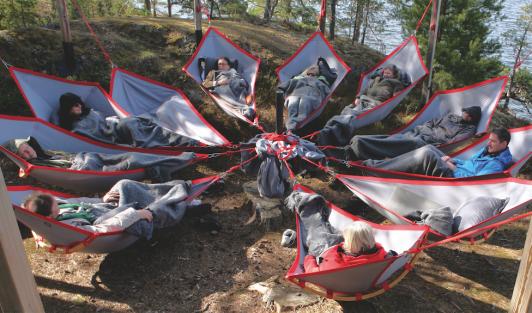 Vann Spa Hotell Konferens erbjuder idag sina gäster Skogsfloating