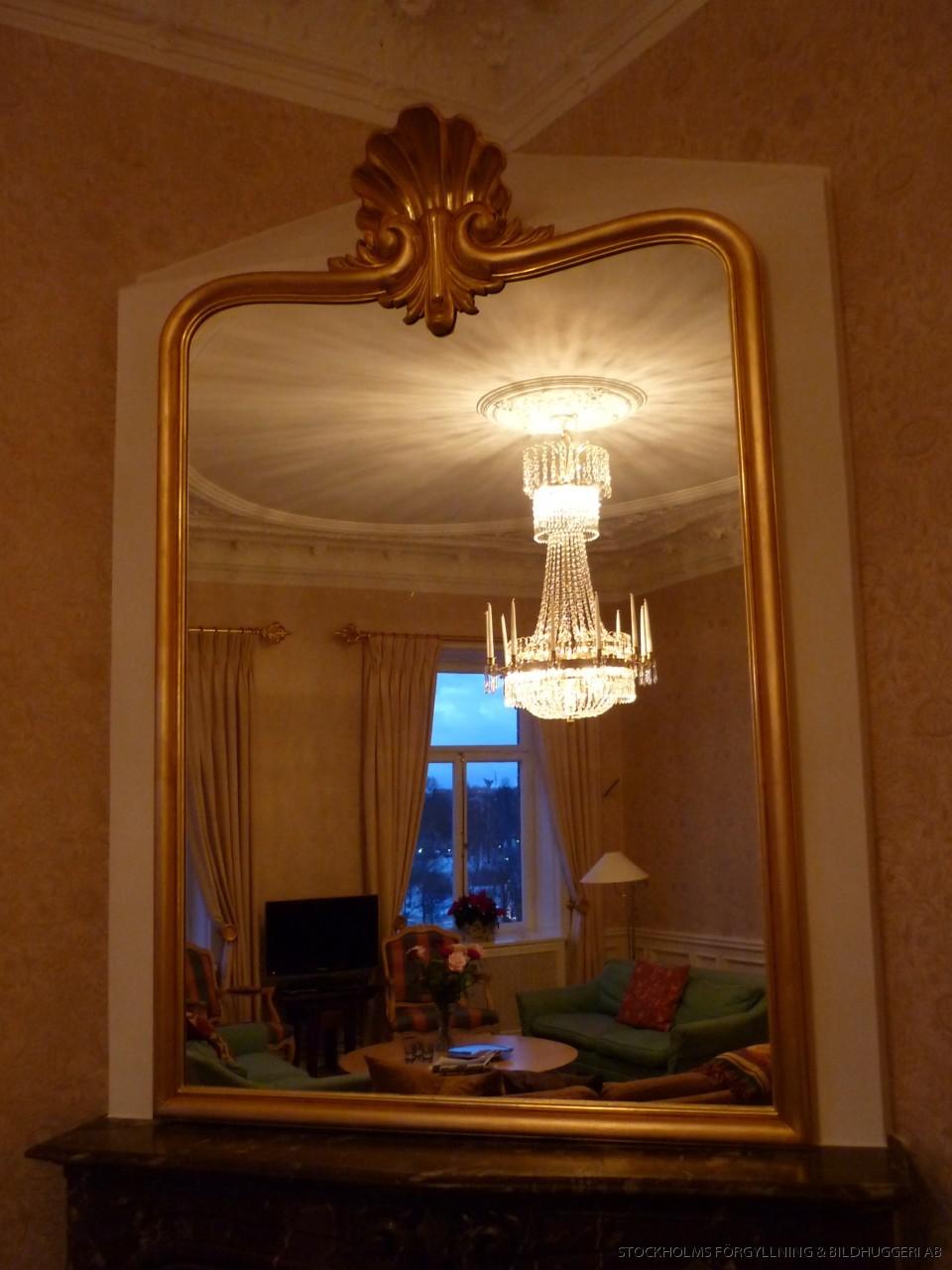 Speglar - antika eller nytillverkade i stockholm förgyllare ...