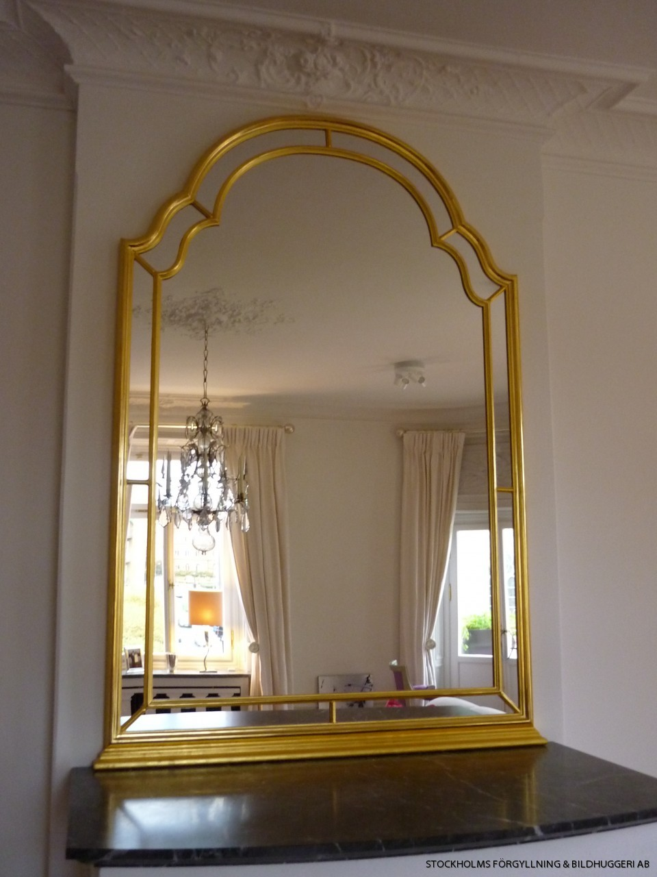 Mirrors  custom made, hand made gilded or wooden mirrors