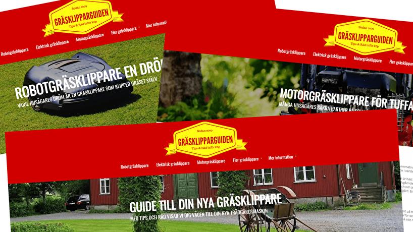 Annonsera på Gräsklipparguiden för att nå 2 miljoner småhusägare.