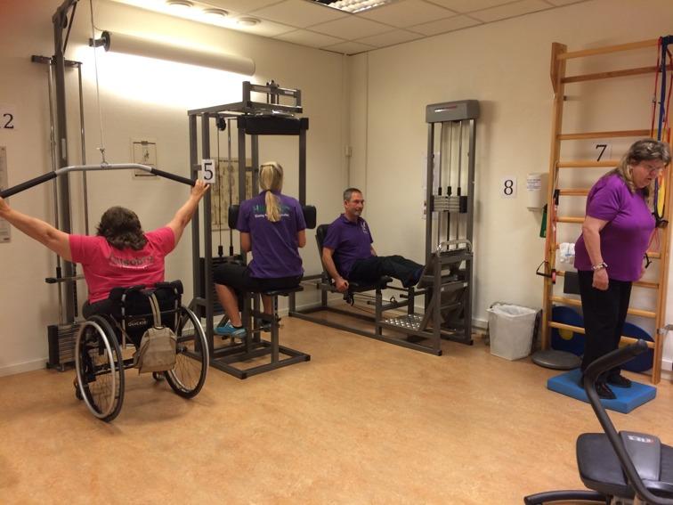 Gymmet där funktionshinder inte är ett hinder