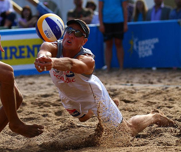 Björn Berg...landets bästa beach volley boll spelare.