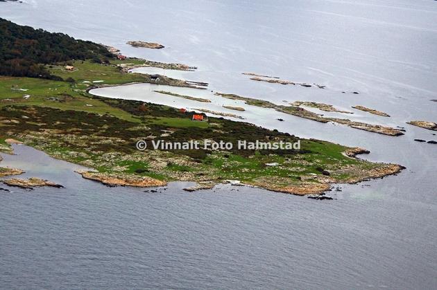 Kappell hamn på Hallands Väderö, Sandhamn var med förra gången. Viken till vänster i bild heter Möhamn.