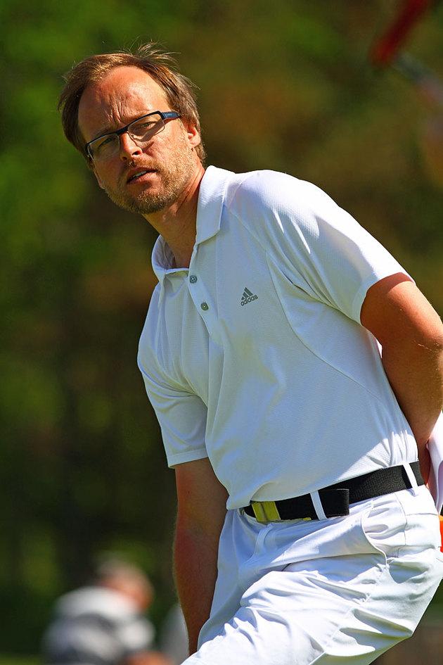 Golf Pro i sin rätta miljö som jag plåtade åt Asperos Idrottsgymnasium