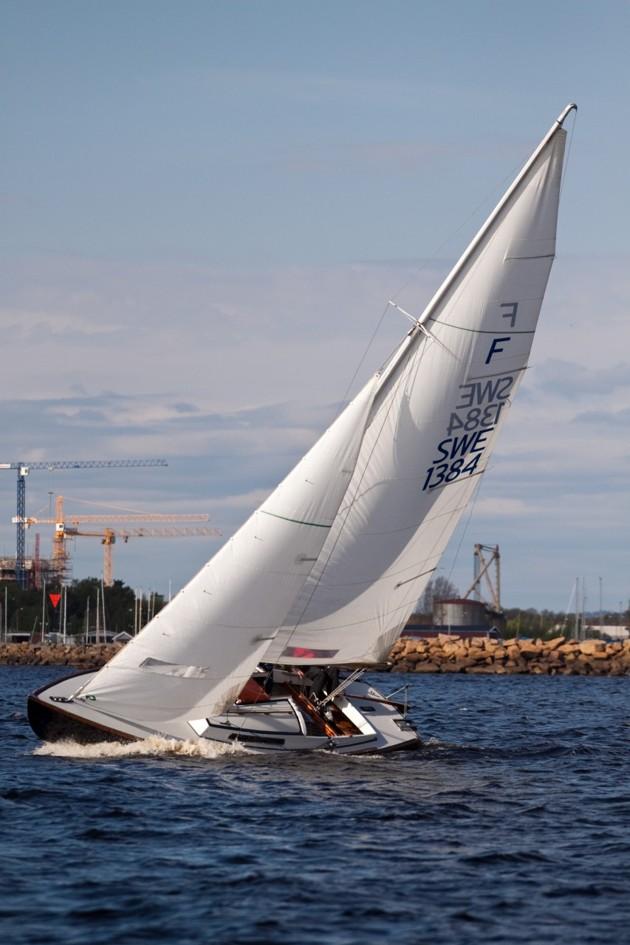 Folkbåtar är en vacker och välseglande båt