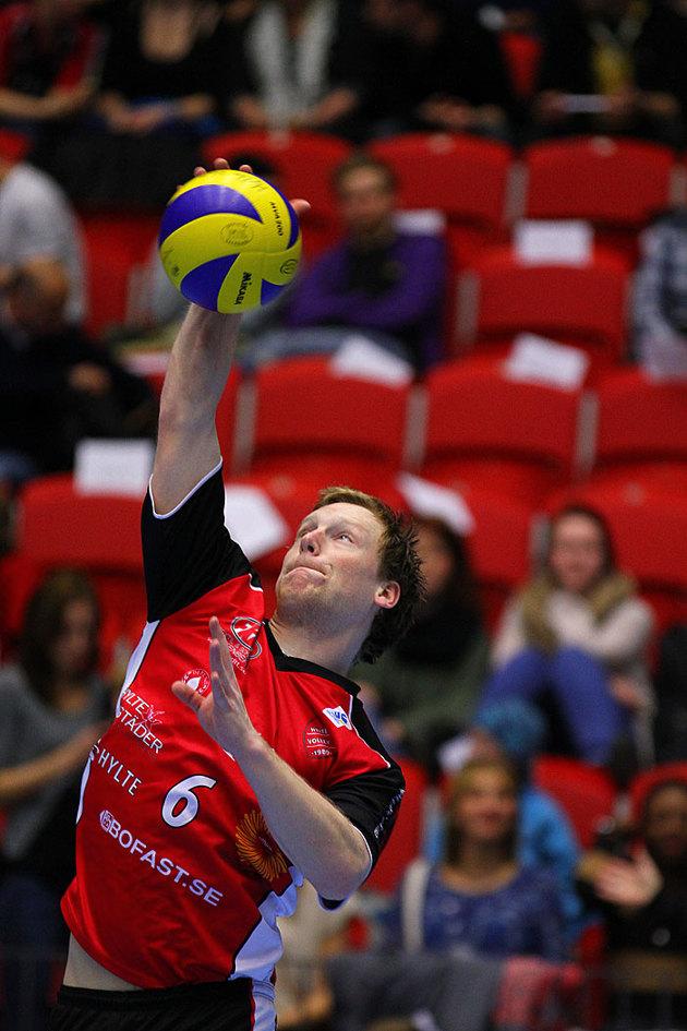 En anställd som dessutom spelar i Hylte Volley...en personal presentation i min värld.