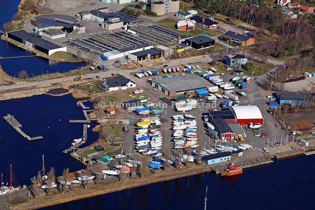 Halmstads Segelsällskap...hamnen är under renovering mm så bilden är från vår hamnplan och klubbhus