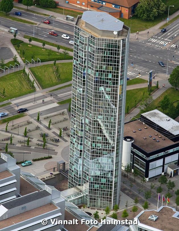 Görgens pinne kallas denna byggnad i Halmstad