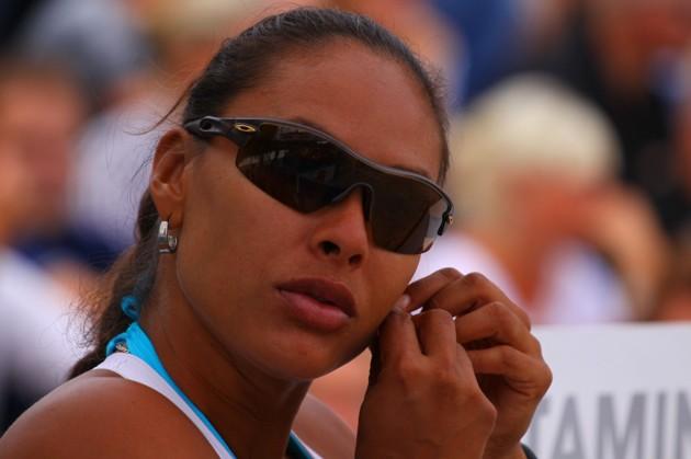Naiana Rodrgues är både snygg...och spelar volleyboll av hög klass.
