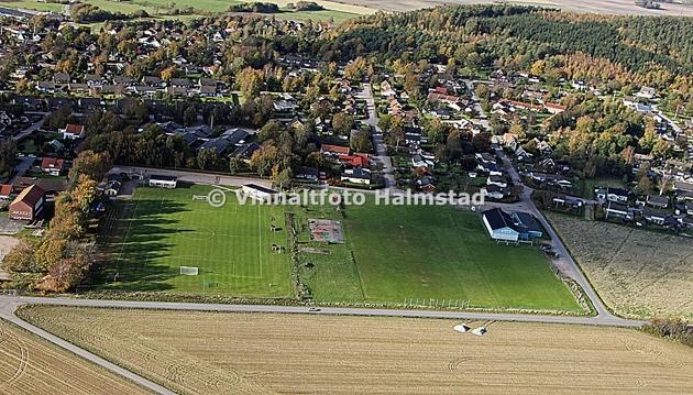 En sann höjdarbild..nåväl syftet var inte skönheten utan ett projekt som Halmstad Kommun vill ha dokumenterat även från luften.