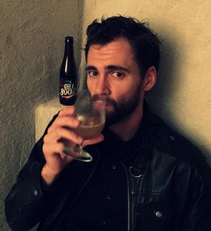 Simon Svensson, författare. Foto: Josefine Carlsson