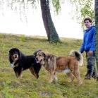 Martin, Disa and Humla at Old UppsalaP1670051