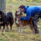 Martin, Disa and Humla at Old UppsalaP1670065