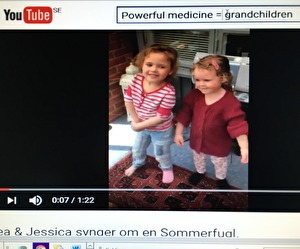 Linnea og Jessica Paaske