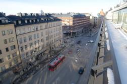 Sankt Eriksgatan från hotellet