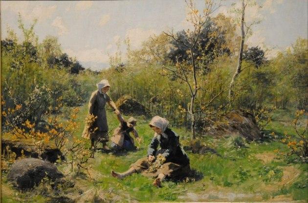 Vårlandskap i Ryd 1884, Norrköpings konstmuseum