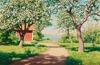 Blommande träd 1924, Bukowskis
