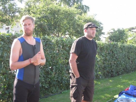 Instruktörerna från Go Nature, Per och John