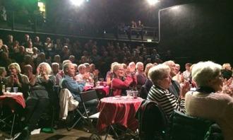 Klubbens fina jazzpublik fick applådera mycket  under konserten