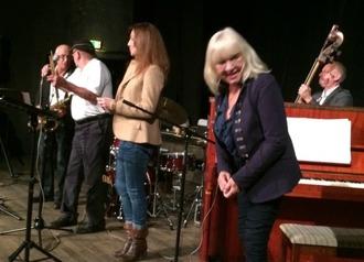 Från vänster: Per Norlén, Mars Farell, Annika Skoglund, Monica Dominique och Hasse Larsson
