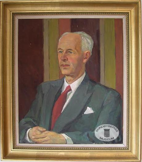 Målning av John Carlsson. Sundbybergs Museum.