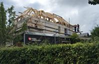 Blir ett stort hus