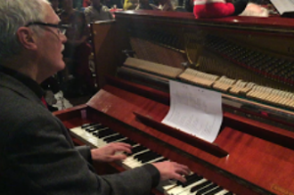 Pelle Larsson, piano