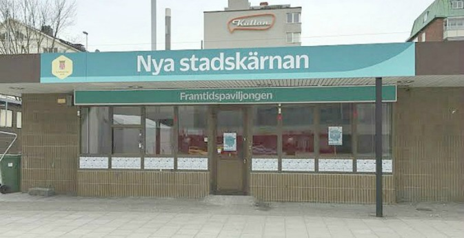 Framtidspaviljongen på Sundbybergs torg visar planprogrammet 4 april-1 maj 2016. Öppet  mådag-torsdag kl 1500-1900; lördag-söndag kl 1400-1600