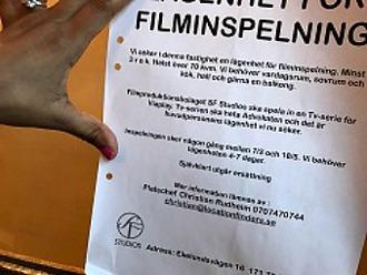 Förvaltarens fastighet Esplanaden/Sturegatan.